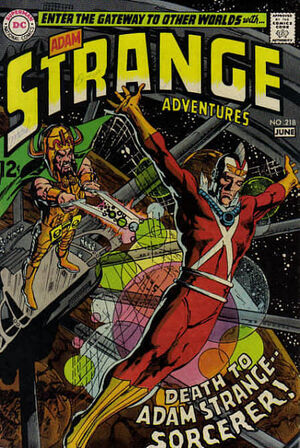 Cover for Strange Adventures #218 (1969)