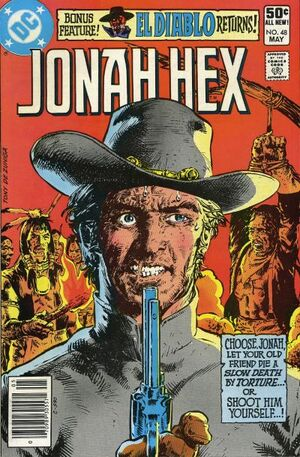 Cover for Jonah Hex #48 (1981)