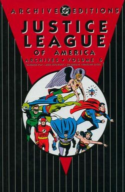 Cover for the Justice League of America Archives Vol 6 Trade Paperback