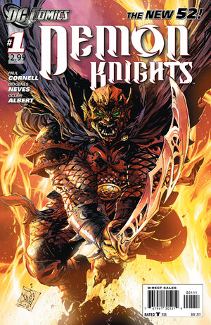 Cover for Demon Knights #1 (2011)