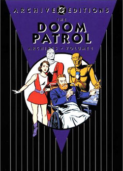 Cover for the Doom Patrol Archives Vol. 1 Trade Paperback