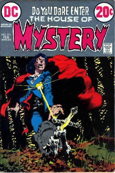 Image result for house of mystery no 211