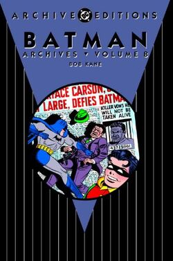Cover for the Batman: The Dark Knight Archives Vol 8 Trade Paperback