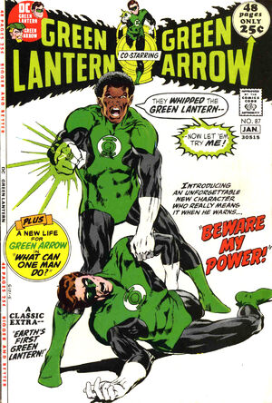 Cover for Green Lantern #87 (1971)