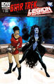 Star Trek Legion of Super-Heroes Vol 1 3 RI