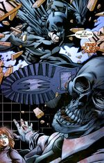 Batman vs. Black Mask; the final battle