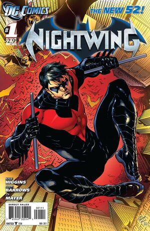 Cover for Nightwing #1 (2011)