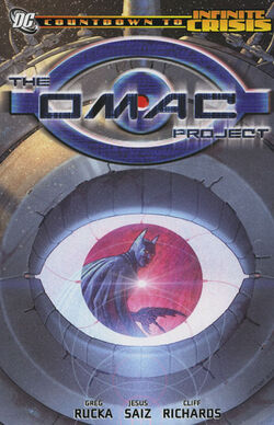Cover for the The OMAC Project Trade Paperback