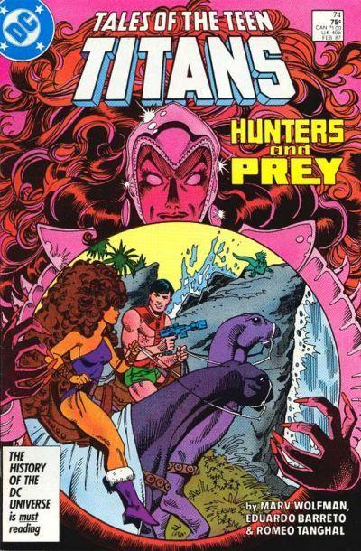 Tales of the teen titans that