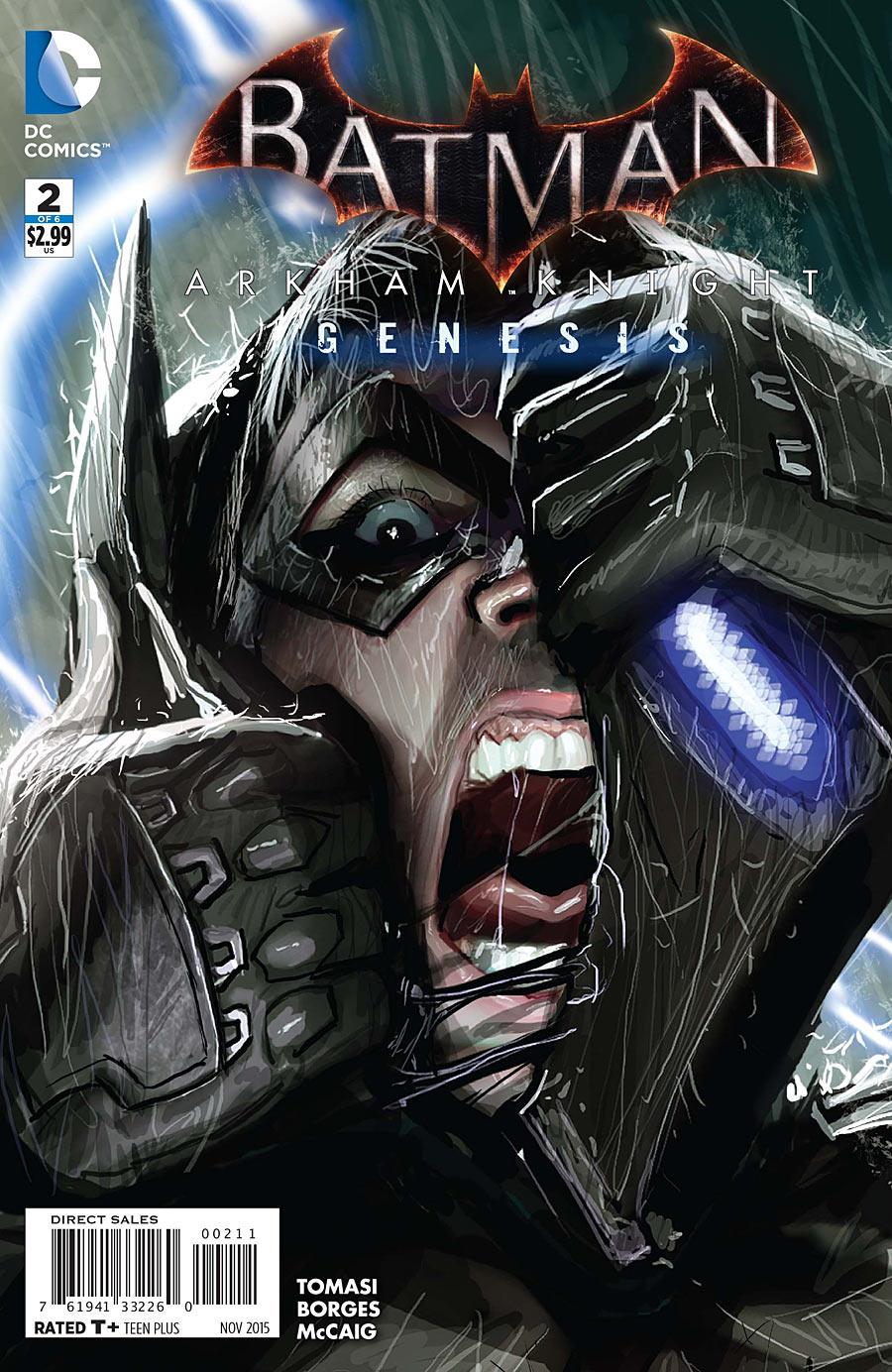 Batman: Arkham Knight - Genesis Vol 1 2 | DC Database ...