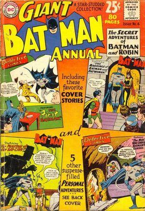 Cover for Batman Annual #4 (1962)