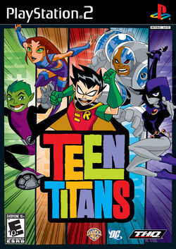 Teen Titans Console Game Box