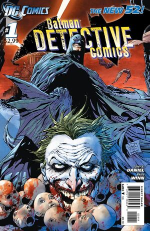 Cover for Detective Comics #1 (2011)