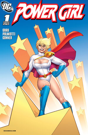 Cover for Power Girl #1 (2009)