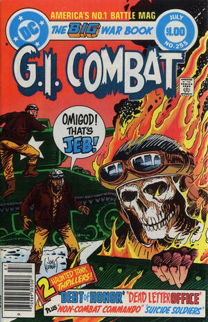 Cover for G.I. Combat #255 (1983)