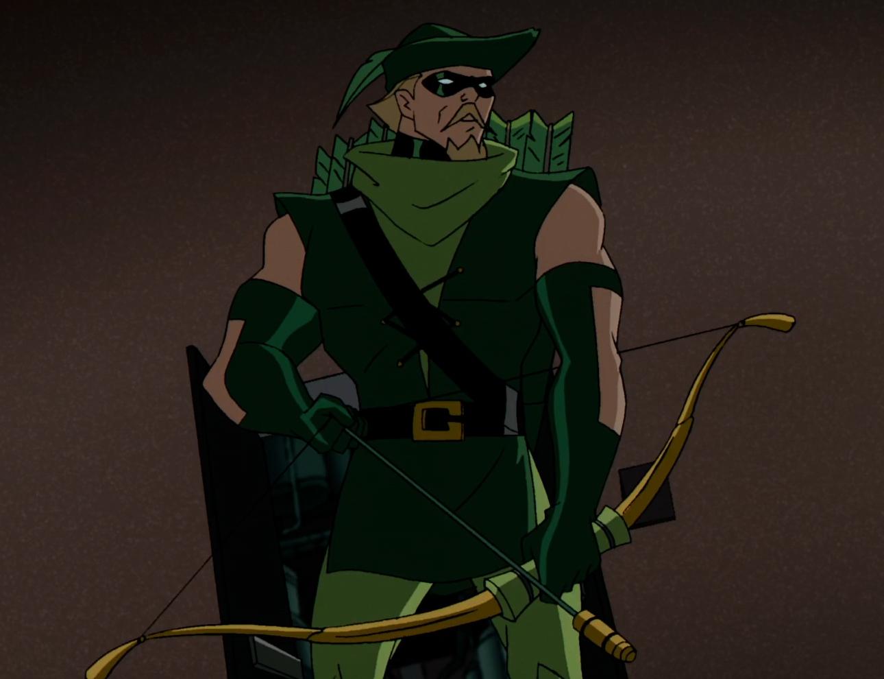 Green Arrow The Batman 001