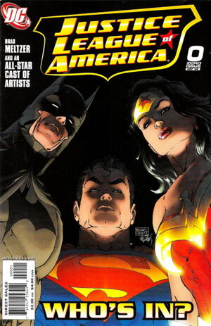 Cover for Justice League of America #0 (2006)