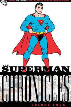 Cover for the Superman Chronicles Vol. 4 Trade Paperback