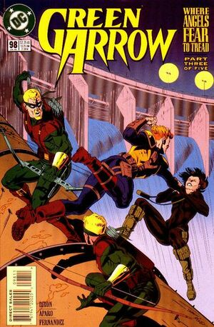 Cover for Green Arrow #98 (1995)