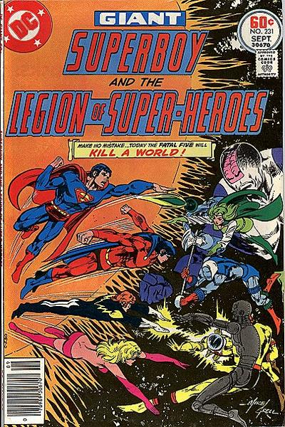 Legion Super-Heroes 231