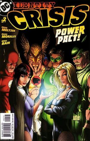 Cover for Identity Crisis #2 (2004)