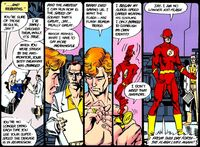 Wally becomes the new Flash.
