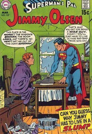 Cover for Superman's Pal, Jimmy Olsen #127 (1970)