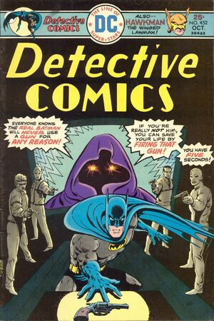Cover for Detective Comics #452 (1975)