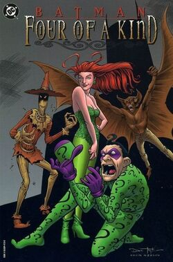 Cover for the Batman: Four of a Kind Trade Paperback