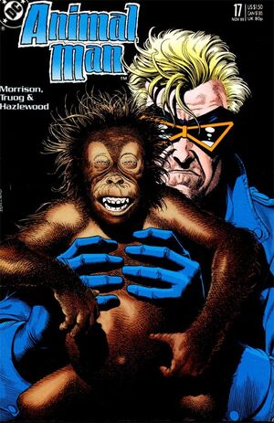Cover for Animal Man #17 (1989)
