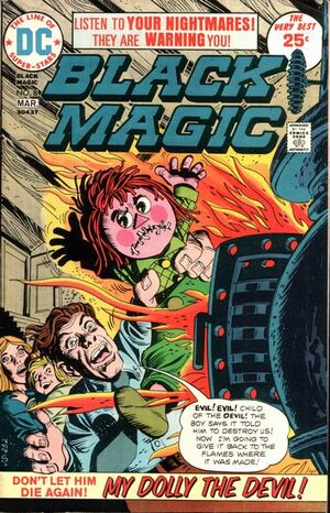 Cover for Black Magic #8 (1975)