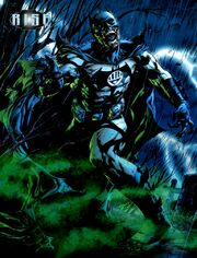 Batman returns as a Black Lantern