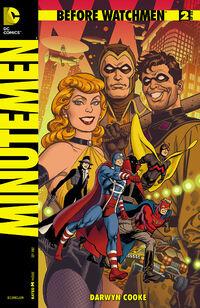 Before Watchmen Minutemen Vol 1 2 Variant A
