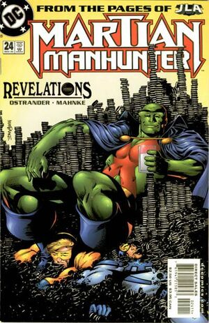 Cover for Martian Manhunter #24 (2000)