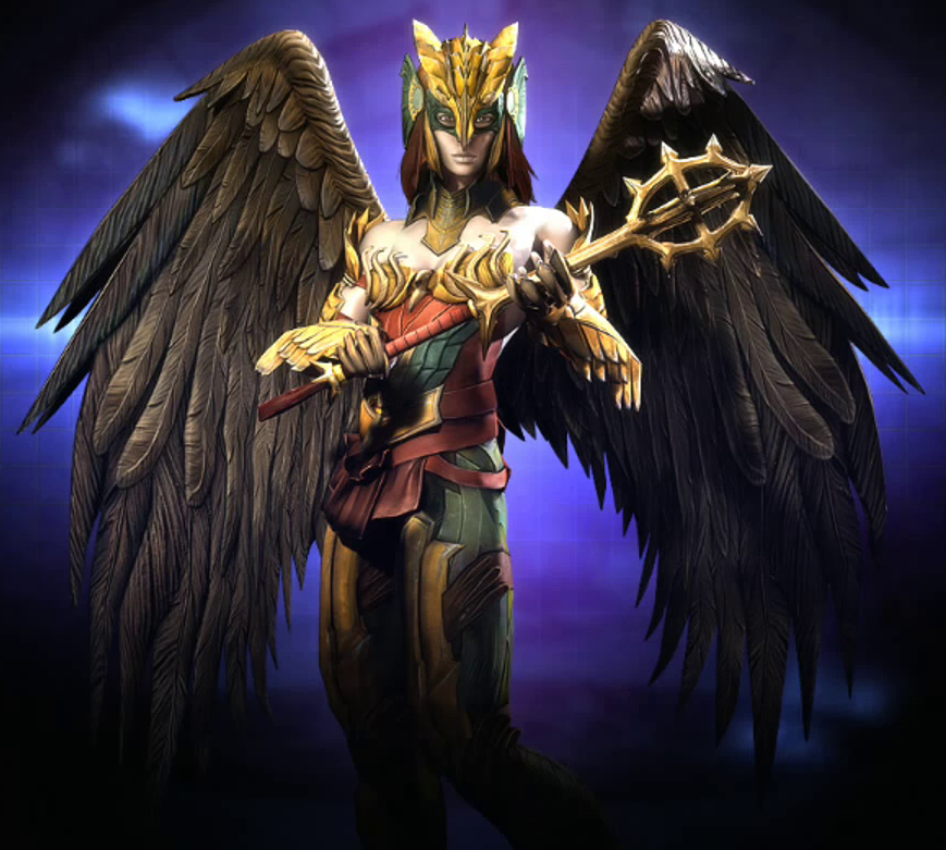 Hawkgirl: Shiera Hall (Injustice: The Regime)