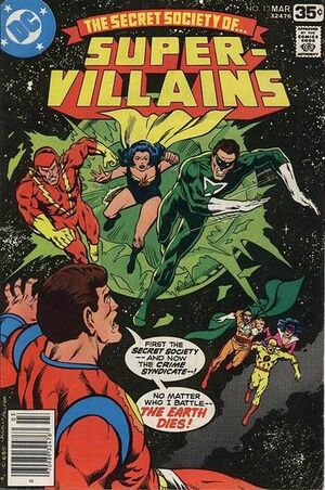 Cover for Secret Society of Super-Villains #13 (1978)