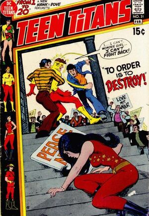 Destroy the teen titans