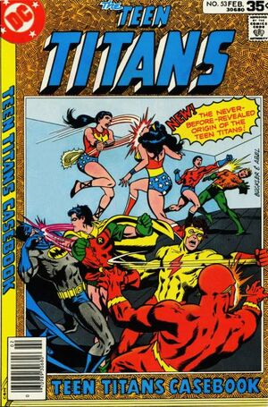 Cover for Teen Titans #53 (1978)