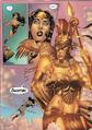 Athena appearing to Wonder Woman 001