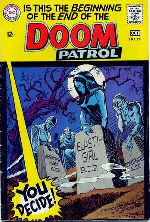 Cover for Doom Patrol #121 (1968)
