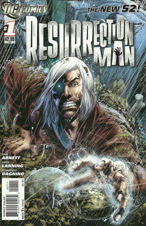 Cover for Resurrection Man #1 (2011)
