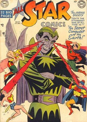 Cover for All-Star Comics #52 (1950)