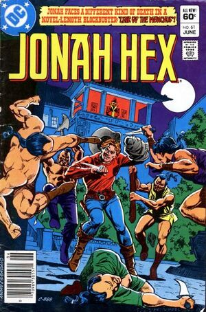 Cover for Jonah Hex #61 (1982)
