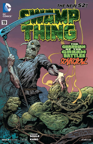 Cover for Swamp Thing #19 (2013)