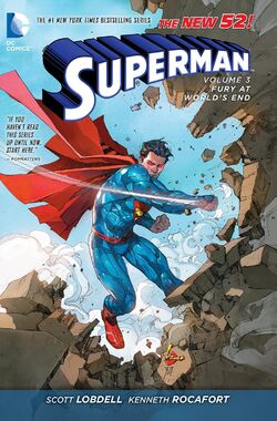 Cover for the Superman: Fury at World's End Trade Paperback