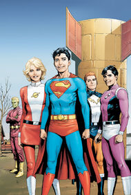 Superboy and the Legion of Super-Heroes.