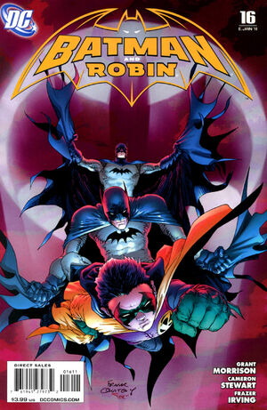 Cover for Batman and Robin #16 (2011)