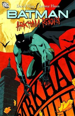Cover for the Batman: Arkham Reborn Trade Paperback