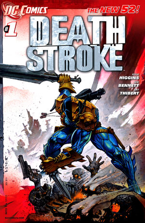 Cover for Deathstroke #1 (2011)