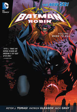 Cover for the Batman and Robin: Born to Kill Trade Paperback